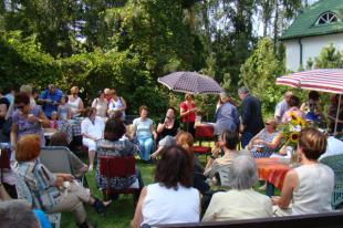 Powiat Piaseczyński: Festiwal Otwarte Ogrody w Zalesiu Dolnym 25-26 sierpnia 2012
