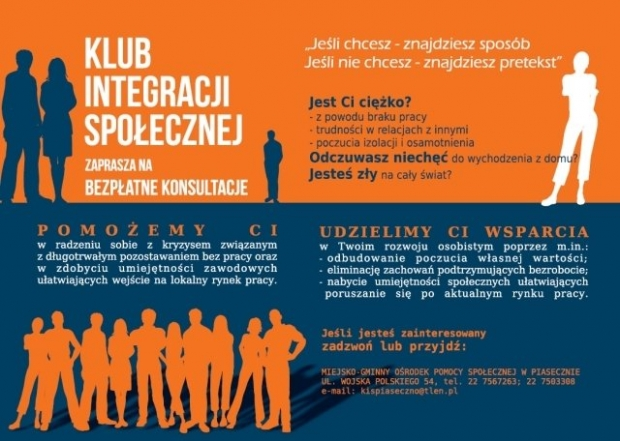 Piaseczno: Klub Integracji Społecznej