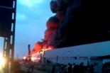 Pożar magazynu w Wólce Kosowskiej koło Piaseczna