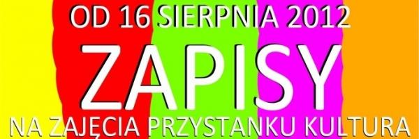 Piaseczno: Zapisy na zajęcia Przystanku Kultura