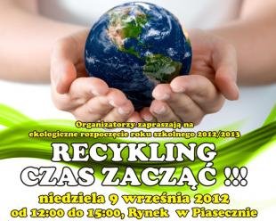 Recykling czas zacząć