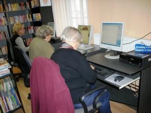 Spotkania z komputerem dla seniorów