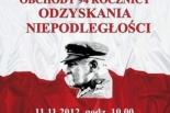 94. rocznica Odzyskania Niepodległości przez Polskę - zaproszenie do Piaseczna