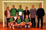 Policjanci – piłkarze z Piaseczna nie zawiedli swoich kibiców