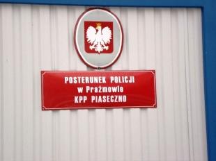Nowy posterunek Policji w Prażmowie
