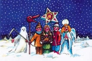Jasełka i kiermasz świątecznych rozmaitości w Baniosze