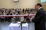 Relacja z otwarcia sali gimnastycznej w Konstancinie