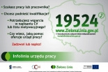 Zielona Linia 19524 – infolinia dla szukających pracy i pracodawców
