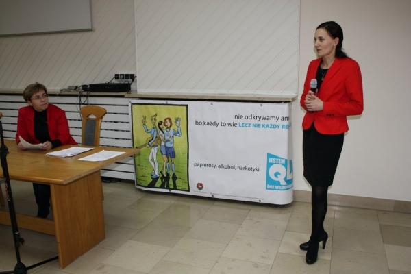 Jestem QL bez wspomagaczy - konferencja w Piasecznie