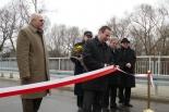 Most w Żabieńcu otwarty