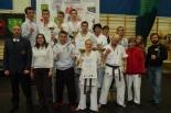Pierwsze miejsce w klasyfikacji drużynowej dla UKS BUSHI
