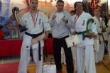 Zawodnicy UKS Bushi na podium w Mistrzostwach Polski Seniorów Karate Kyokushin