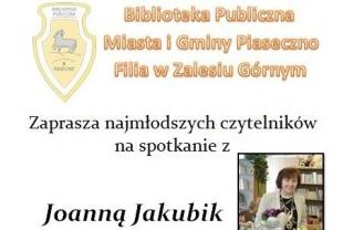 Joanna Jakubik w Zalesiu Górnym