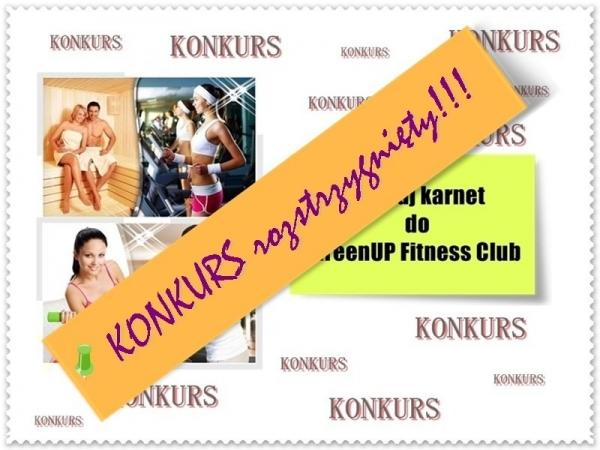 Konkurs przywitanie lata z GreenUp Fitness Club ROZSTRZYGNIĘTY
