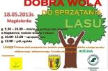 18 maja Sprzątamy las w Magdalence