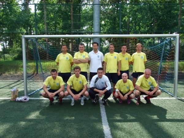 4 miejsce  REPREZENTACJI  SAMORZĄDOWCÓW  z Góry Kalwarii na 6 Mistrzostwach Mazowsza MAZOVIA CUP 2013