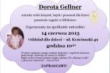 Biblioteka Publiczna w Piasecznie zaprasza na spotkania z Dorotą Gellner