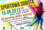 Sportowa sobota w Żabieńcu