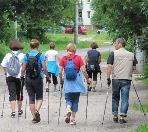 Drugi spacer Nordic Walking - relacja