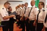 Uroczysta Zbiórka w Komendzie Powiatowej Policji w Piasecznie