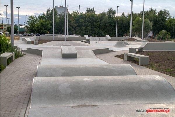 Skatepark w Piasecznie