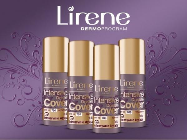 Idealne krycie i wyrównany kolory skóry z nową odsłona fluidów  Lirene Intensive Double Cover
