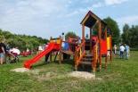 Otwarcie placu zabaw w Henrykowie - Uroczu