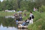 Zawody wędkarskie w Jeziorzanach