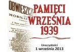 Obchody 76. rocznicy wybuchu II wojny światowej w Piasecznie