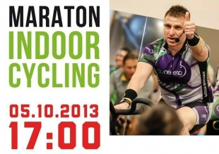 Maraton INDOOR CYCLING w GreenUP Fitness Club