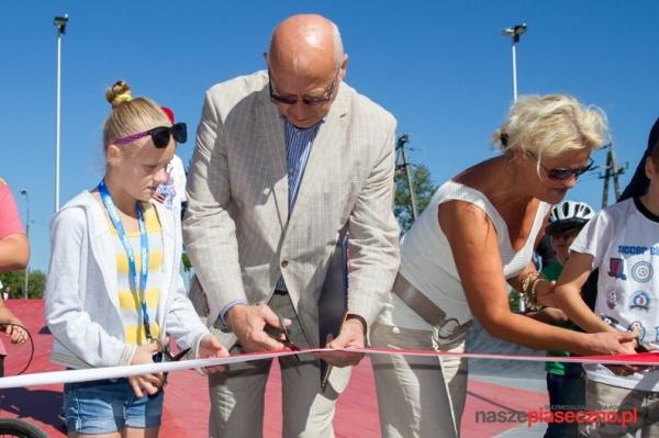 Piaseczyński skatepark oficjalnie otwarty