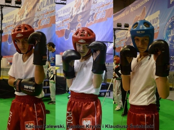 Piaseczyńscy kickboxerzy w Krynicy-Zdroju