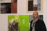 Wernisaż Artura Wąsowskiego w Galerii Przystanek