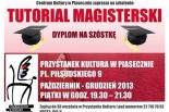 Tutorial magisterski - Dyplom na szóstkę - kurs w Piasecznie