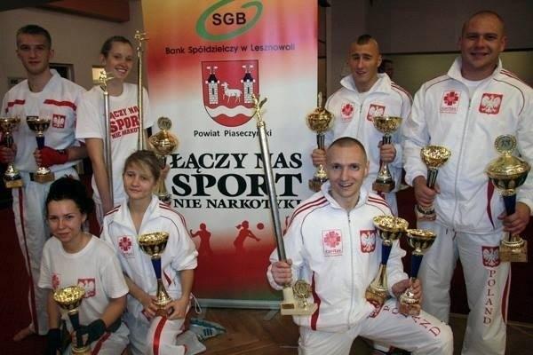 Sukces kickboxerów na Mistrzostwach w Pradze