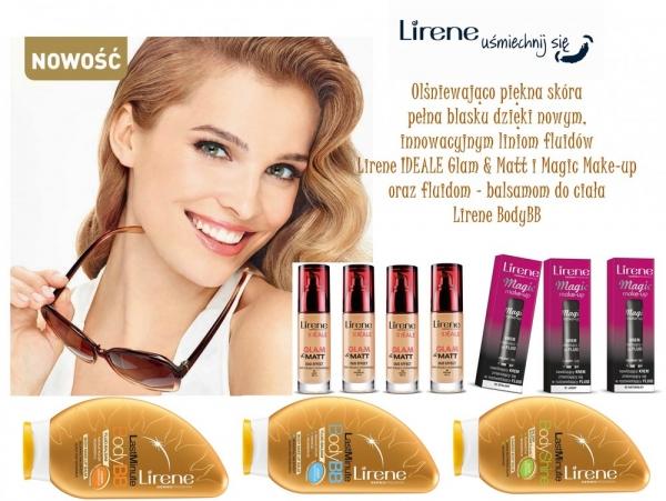 Olśniewająco piękna skóra pełna blasku dzięki nowym kosmetykom Lirene