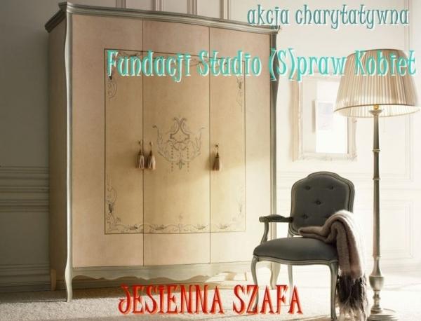 JESIENNA SZAFA akcja charytatywna Fundacji Studio (S)praw Kobiet