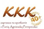 Specjalne spotkanie KLUBU KLASY KOBIET 40+ z Agnieszką Perepeczko