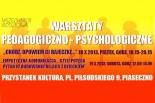 Warsztaty pedagogiczno-psychologiczne dla rodziców