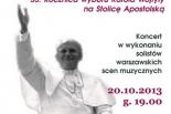 Jesienny Koncert dla Papieża Jana Pawła II w Starej Iwicznej