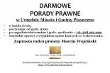 Bezpłatne porady prawne w Urzędzie Miasta i Gminy Piaseczno