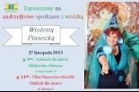 Andrzejkowe spotkanie z Wiolettą Piasecką w Piasecznie