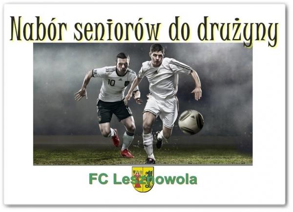 Nabór do drużyny seniorów FC Lesznowola