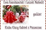 Ewa Konstanciak i Leszek Matecki gośćmi Klubu Klasy Kobiet z Piaseczna