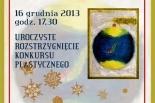 PIĘKNA KARTA ŚWIĄTECZNA 2013 - dziecięca wystawa pokonkursowa w Nowej Iwicznej