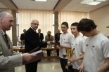 Badmintoniści z Zalesia Górnego nagrodzeni podczas sesji Rady Miejskiej