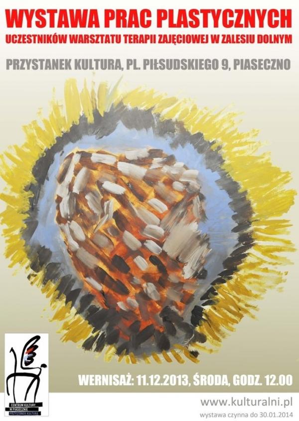 Wystawa prac uczestników Warsztatu Terapii Zajęciowej