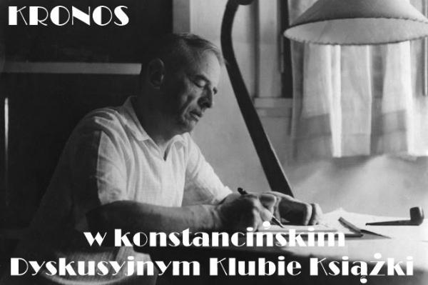 KRONOS w konstancińskim Dyskusyjnym Klubie Książki