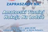 Amatorski Turniej Hokeja na Lodzie w Górze Kalwarii