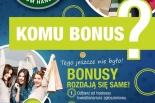 """Nie przegap okazji na tańsze zakupy – weź udział w akcji """"Komu bonus?"""""""